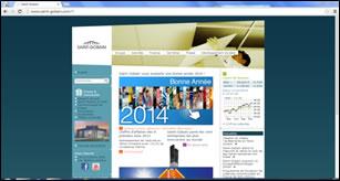 PA site institutionnel Saint Gobain Janvier 2014.PNG